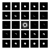 Totality Sequence 8-21-2017 (2017) by Jeffrey Conley