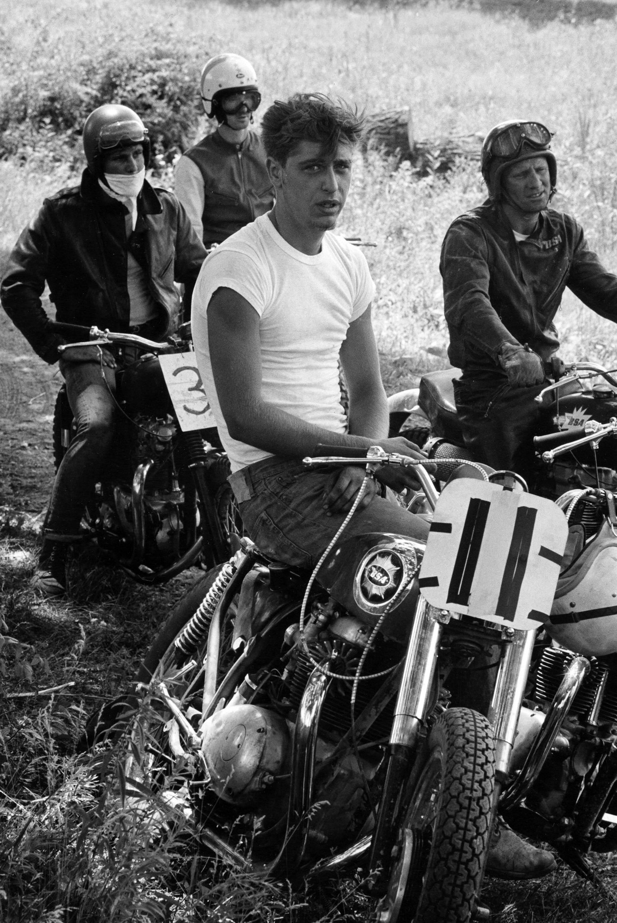 Racers, McHenry, Illinois (1963-1967) by Danny Lyon