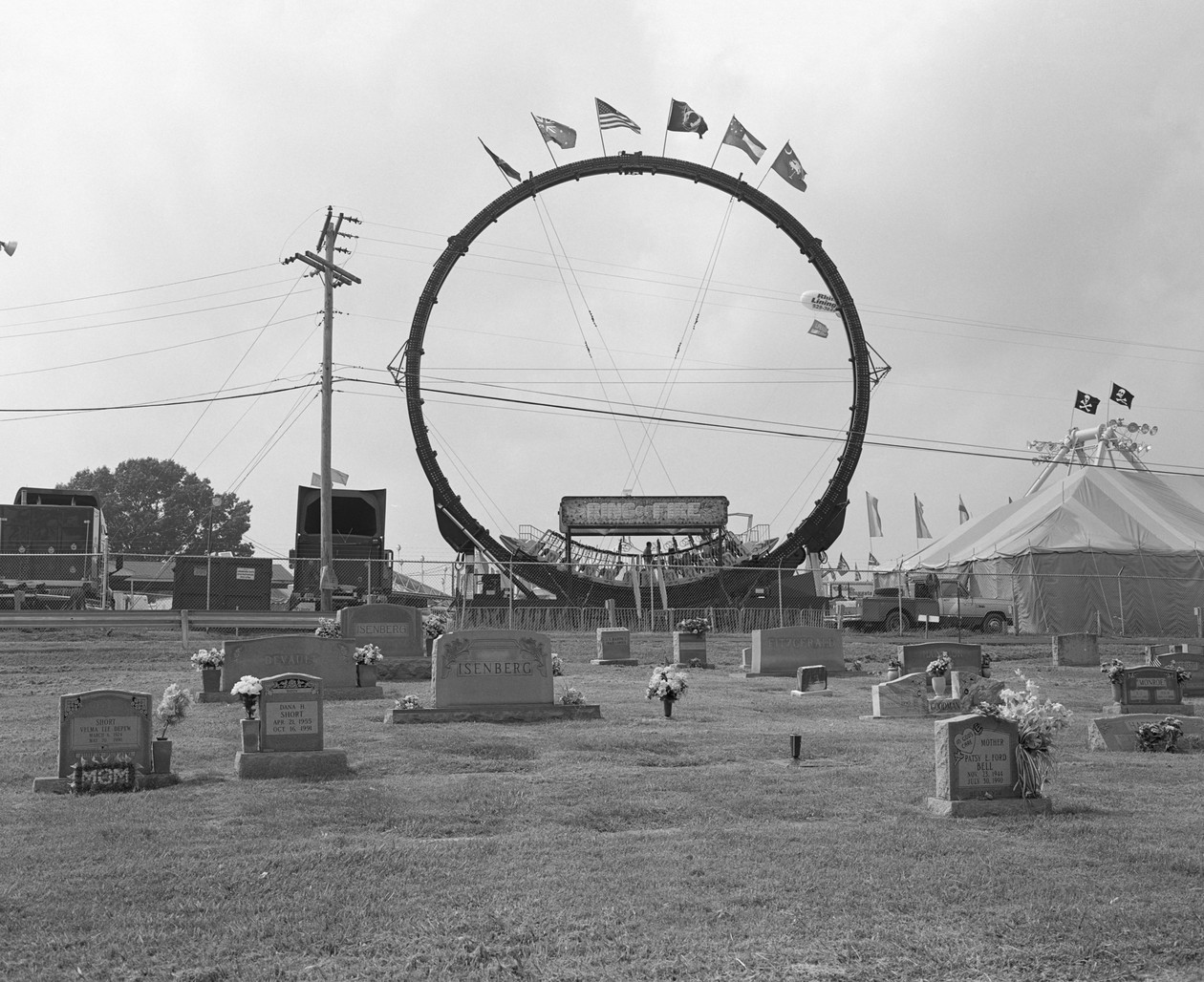 Untitled (ring of fire), from Carnival (2001) by Mark Steinmetz