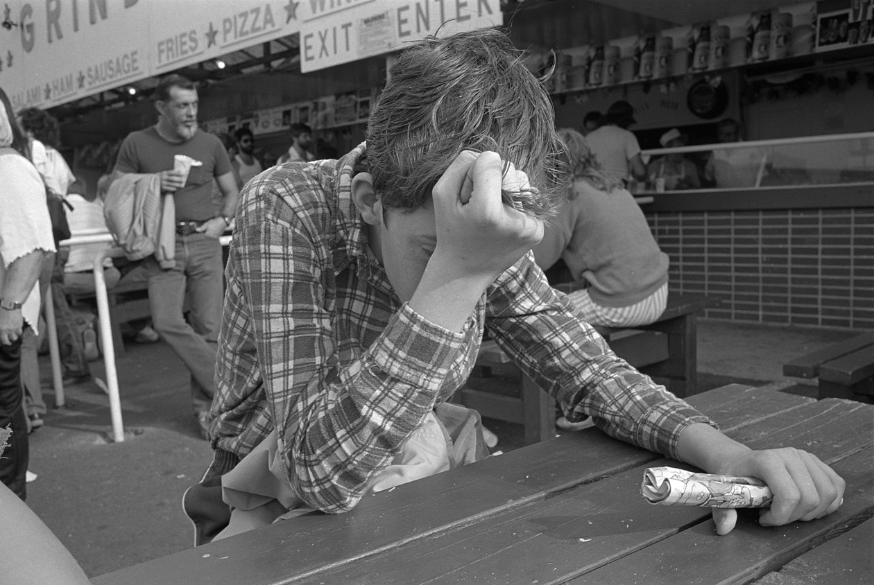 Untitled (frustrated), from Carnival (1985) by Mark Steinmetz