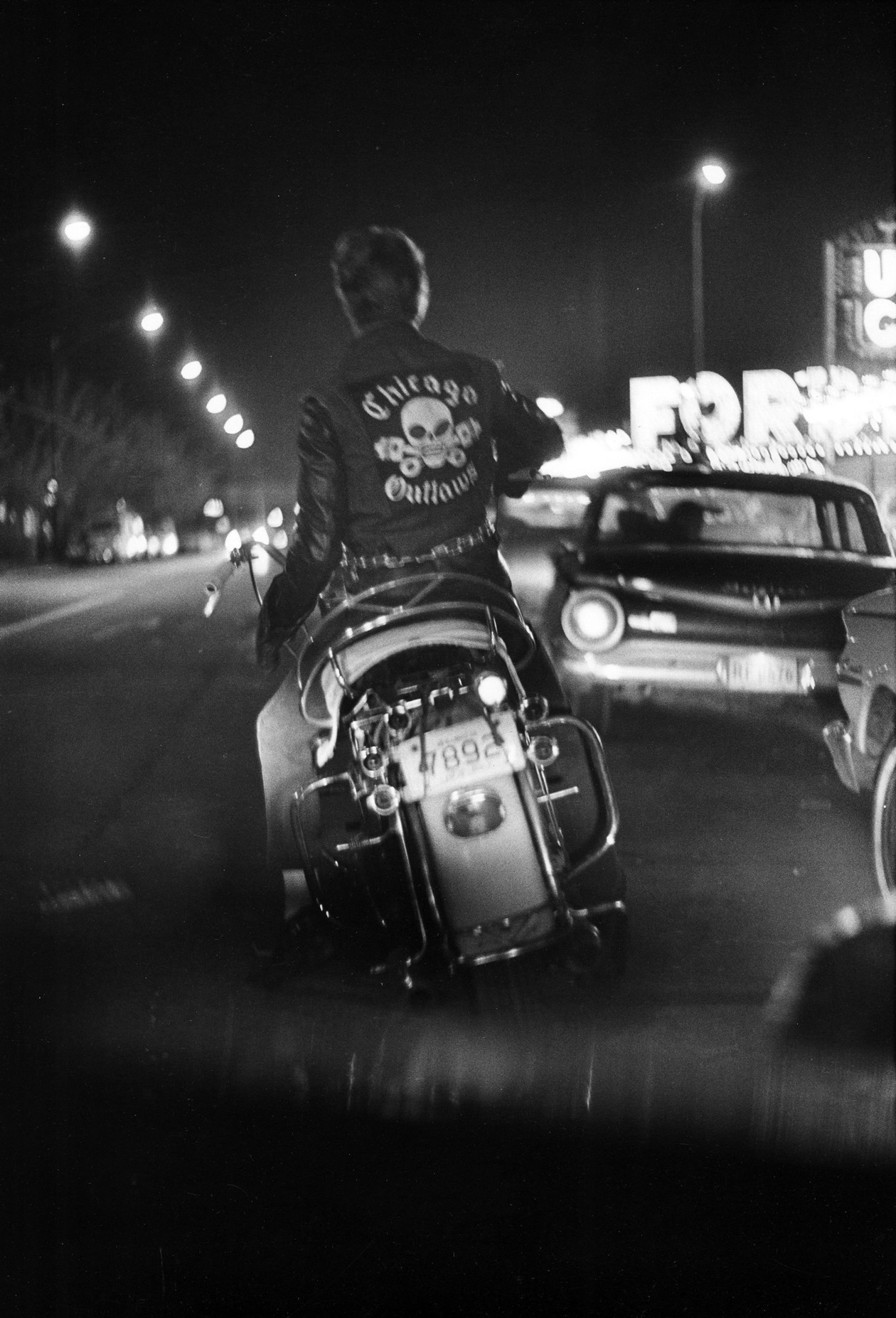 Benny, Division and Grand, Chicago (1963-1967) by Danny Lyon