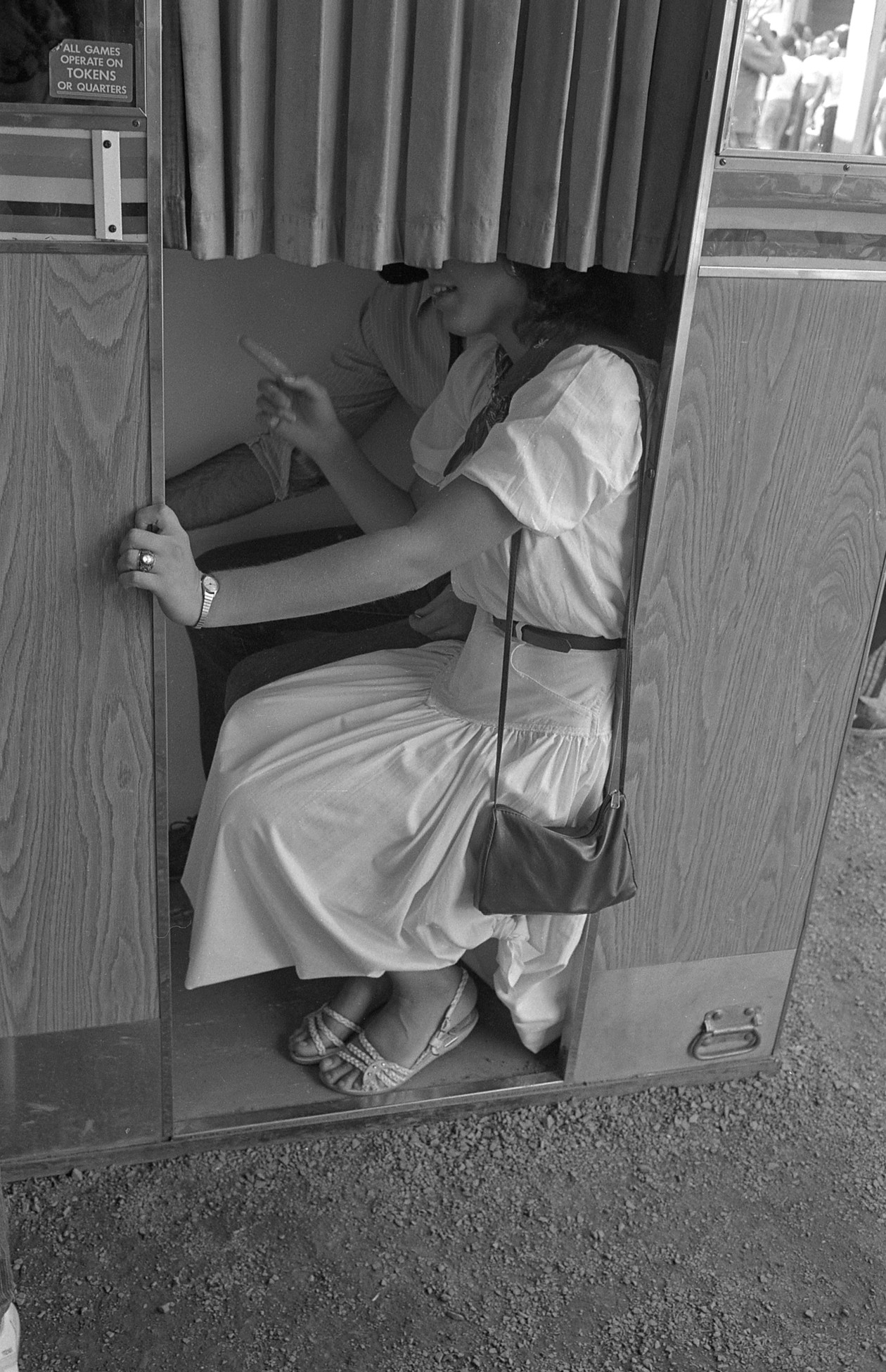 Untitled (photo booth), from Carnival (1984) by Mark Steinmetz