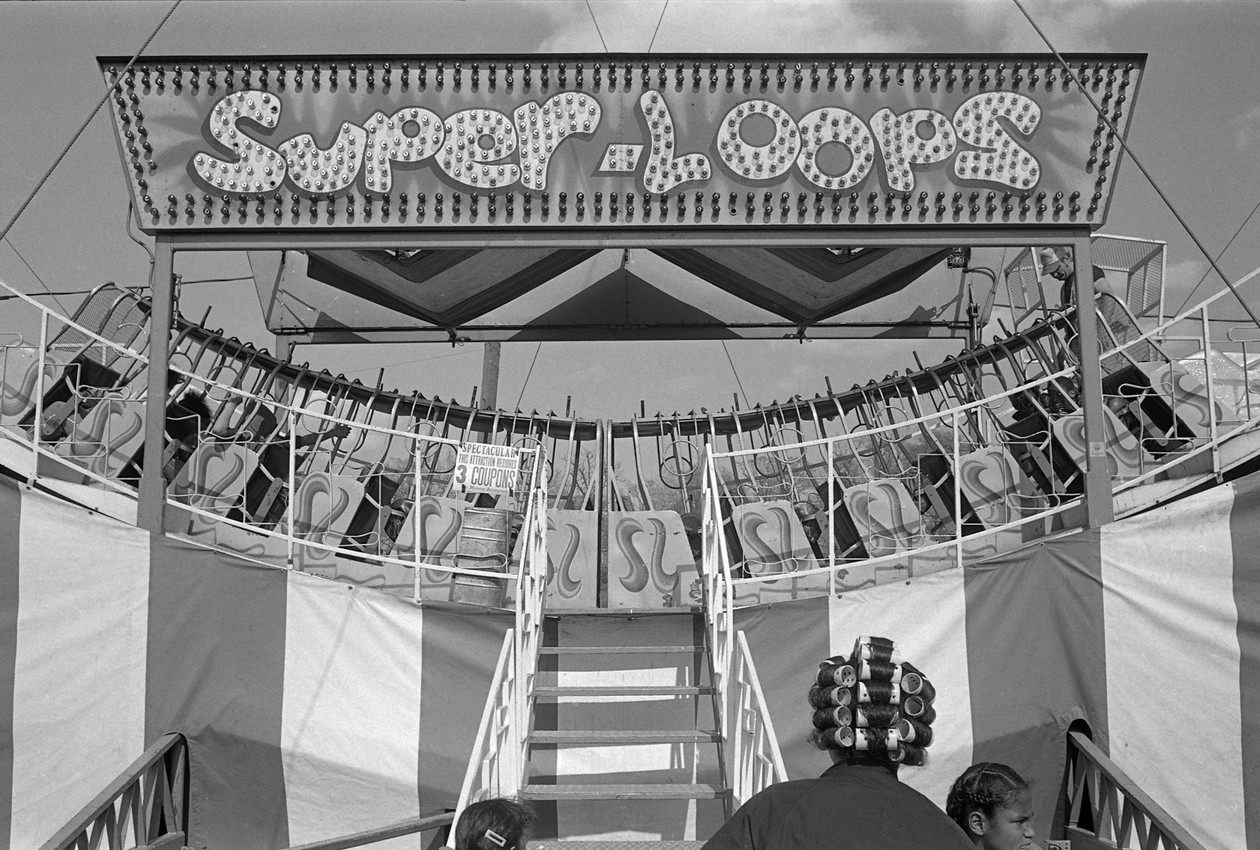 Untitled (super loops), from Carnival (1983) by Mark Steinmetz