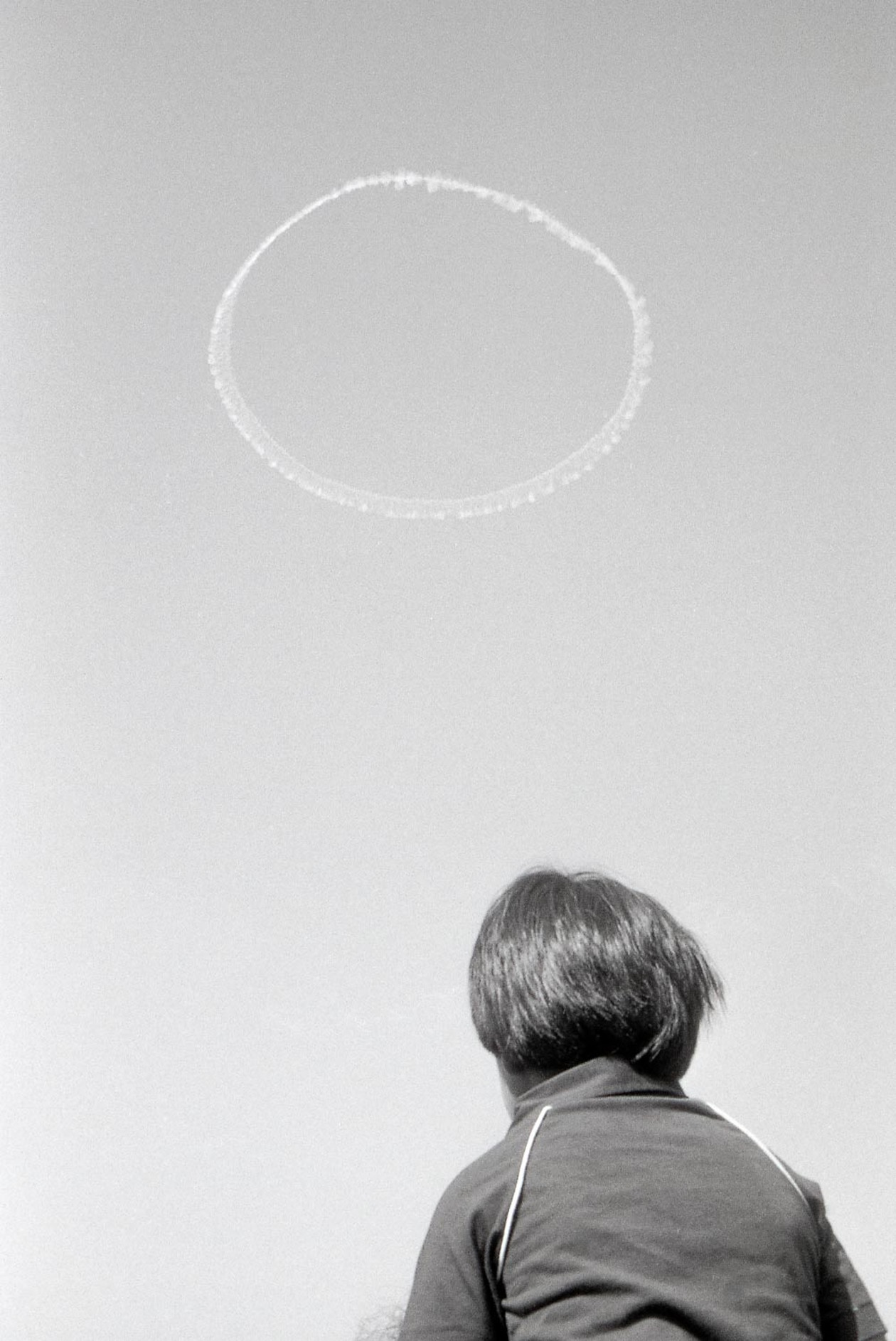 From Angel City West (jet trail) (1983) by Mark Steinmetz