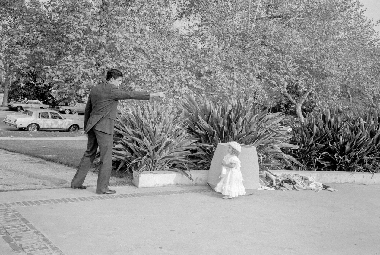 From Angel City West (bridesmaid) (1983) by Mark Steinmetz