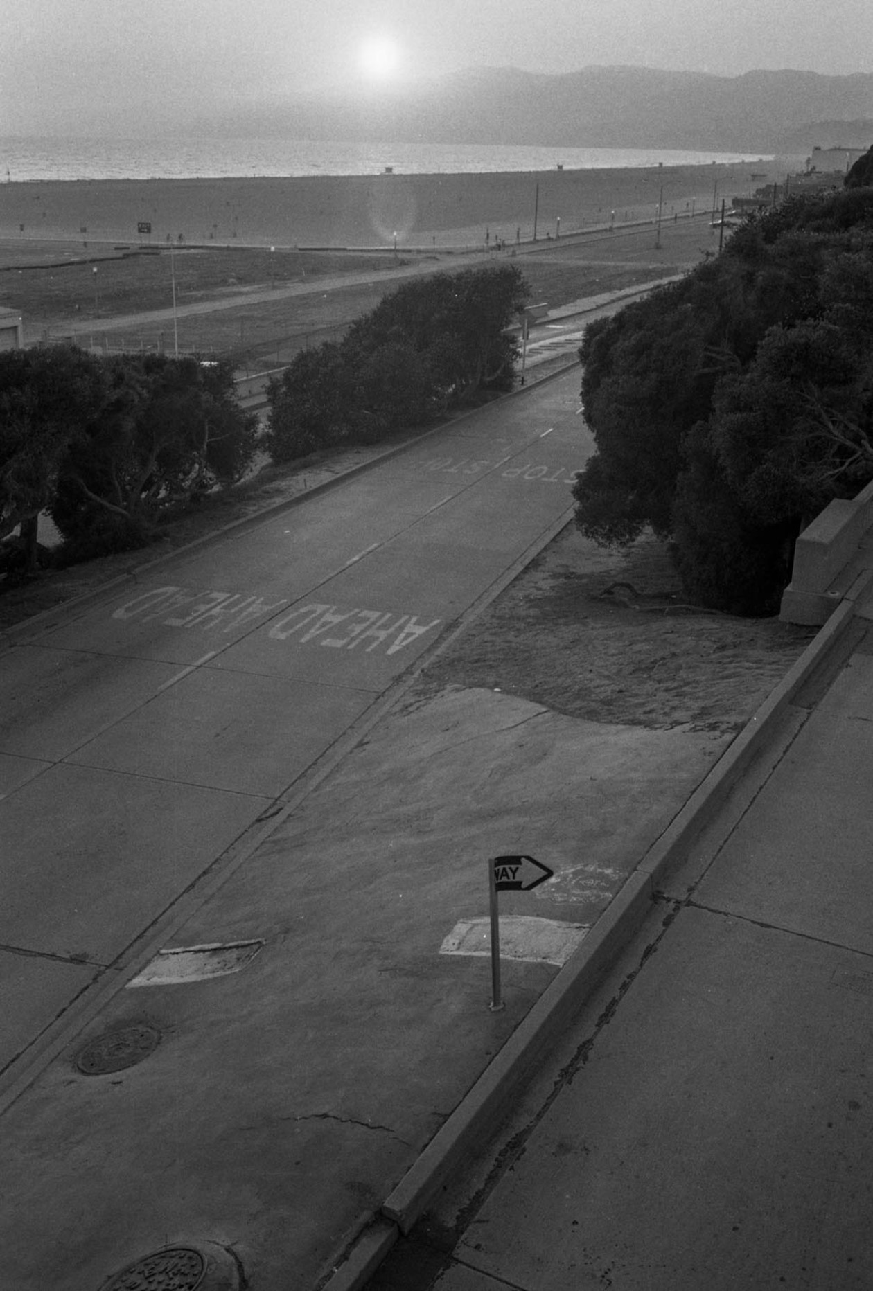 From Angel City West (one way) (1983) by Mark Steinmetz