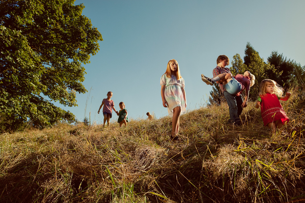 The Children Descending Spring Hill (2011) by Holly Andres