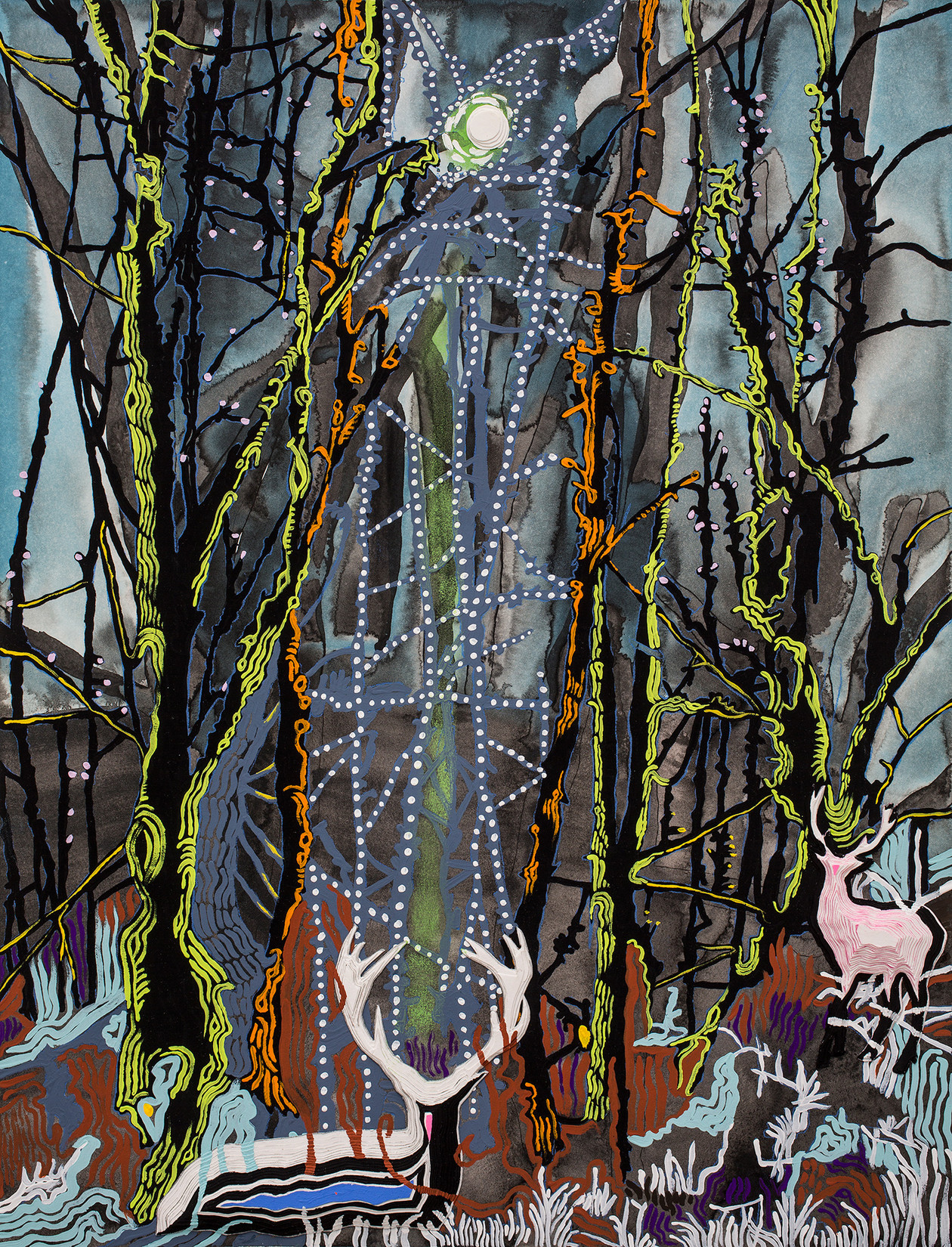 The Stag (2014) by Anna  Fidler