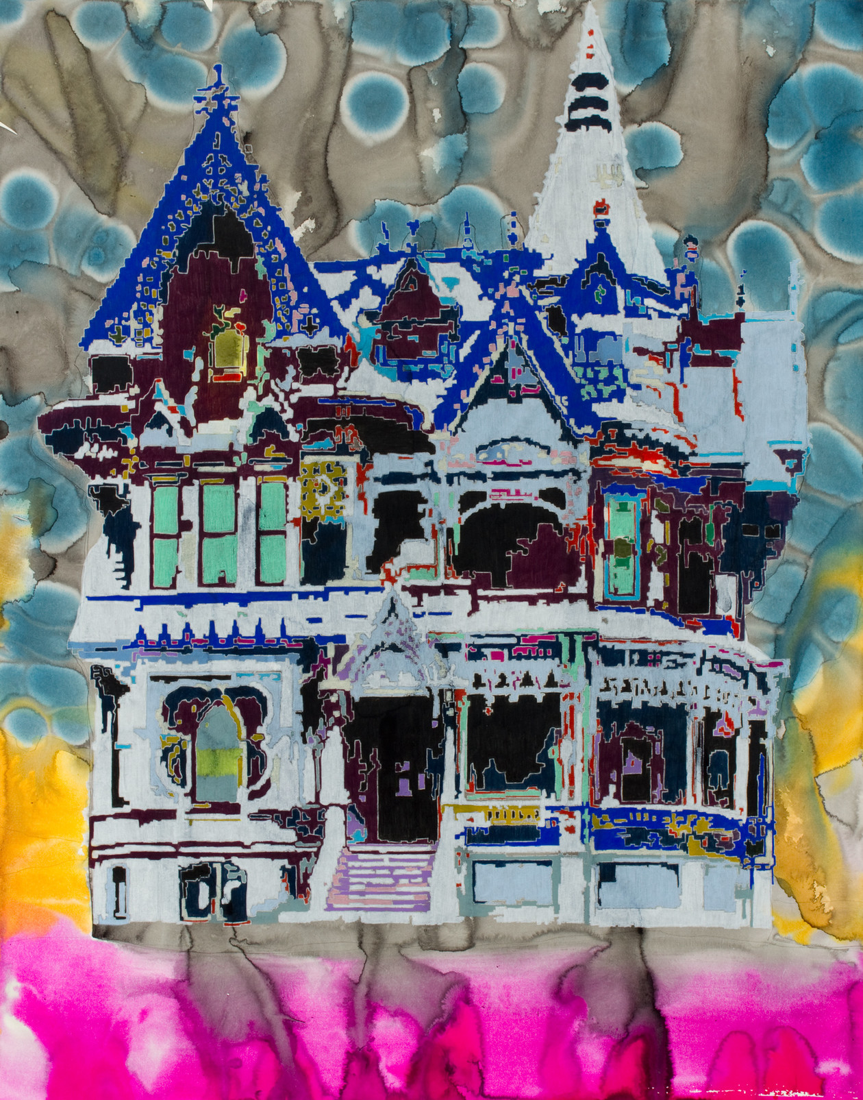 Forbes Mansion (2012) by Anna  Fidler