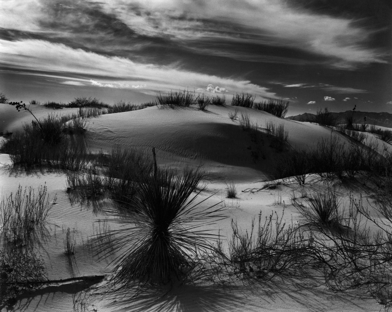 Sand Dunes, White Sands, NM  (1946) by Brett Weston