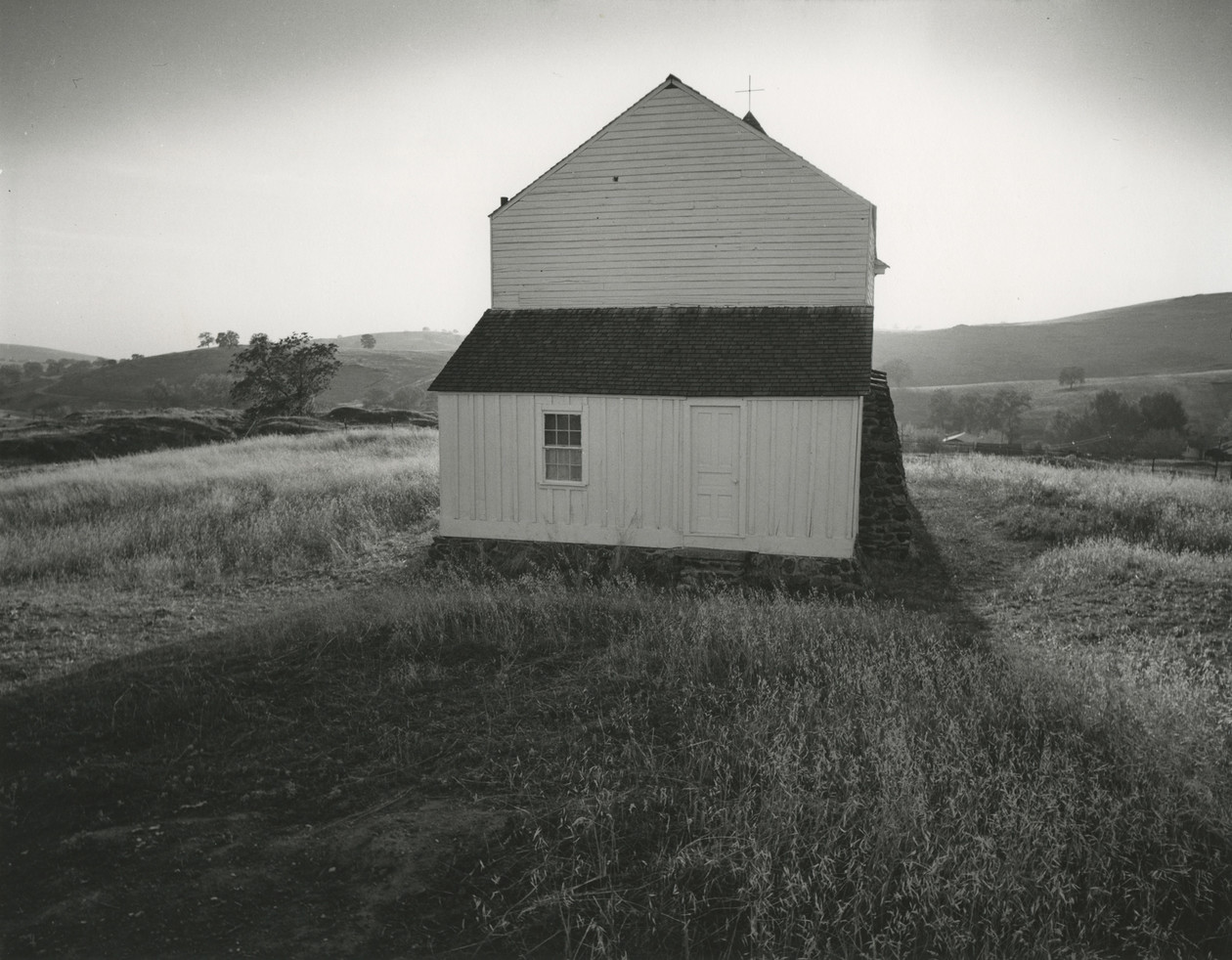 Church, Hornitos, California (1948) by Minor White