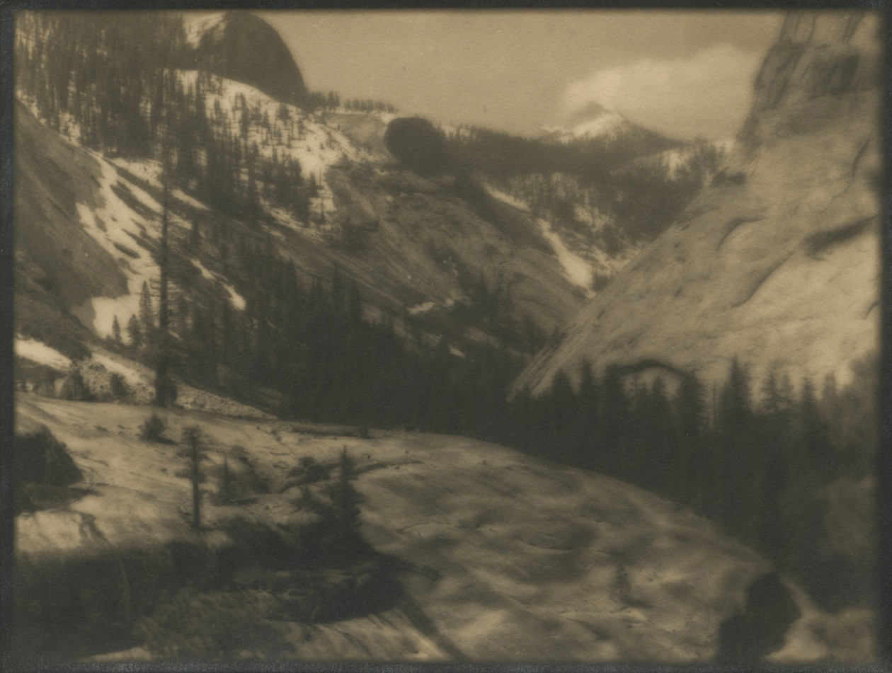 Lost Valley, Little Yosemite, Yosemite Nat. Park (1920-24) by Ansel Adams