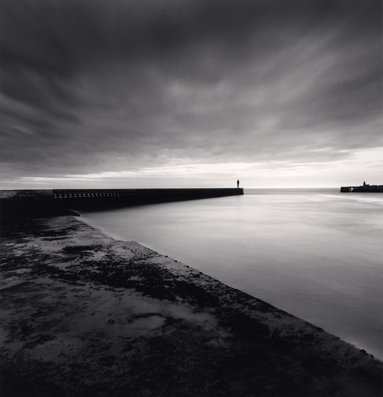 Channel Crossing, Calais (1997) by Michael Kenna