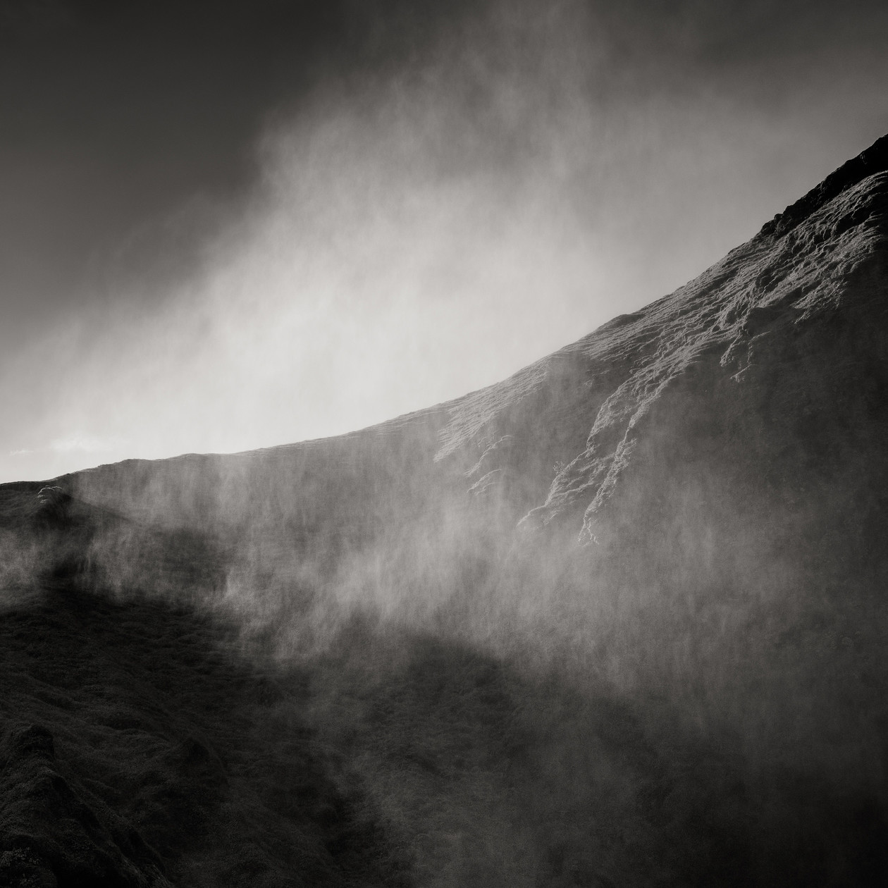 Lifting Mist, Iceland (2017) by Jeffrey Conley