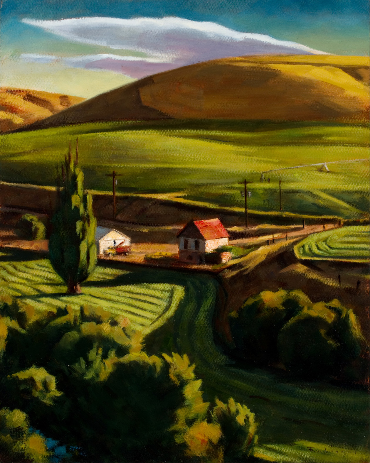 First Cutting (2013) by Daniel Robinson
