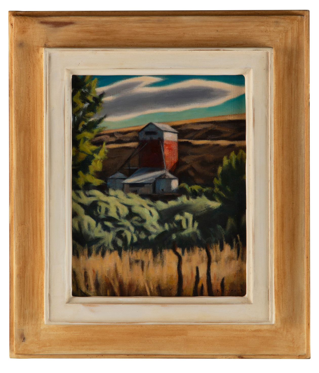 Willows and Granary (2021) by Daniel Robinson