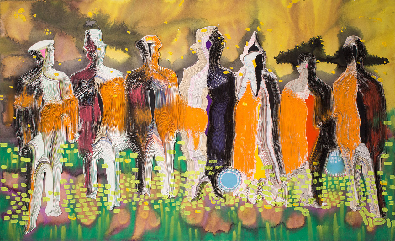 Mummers II (2014) by Anna  Fidler