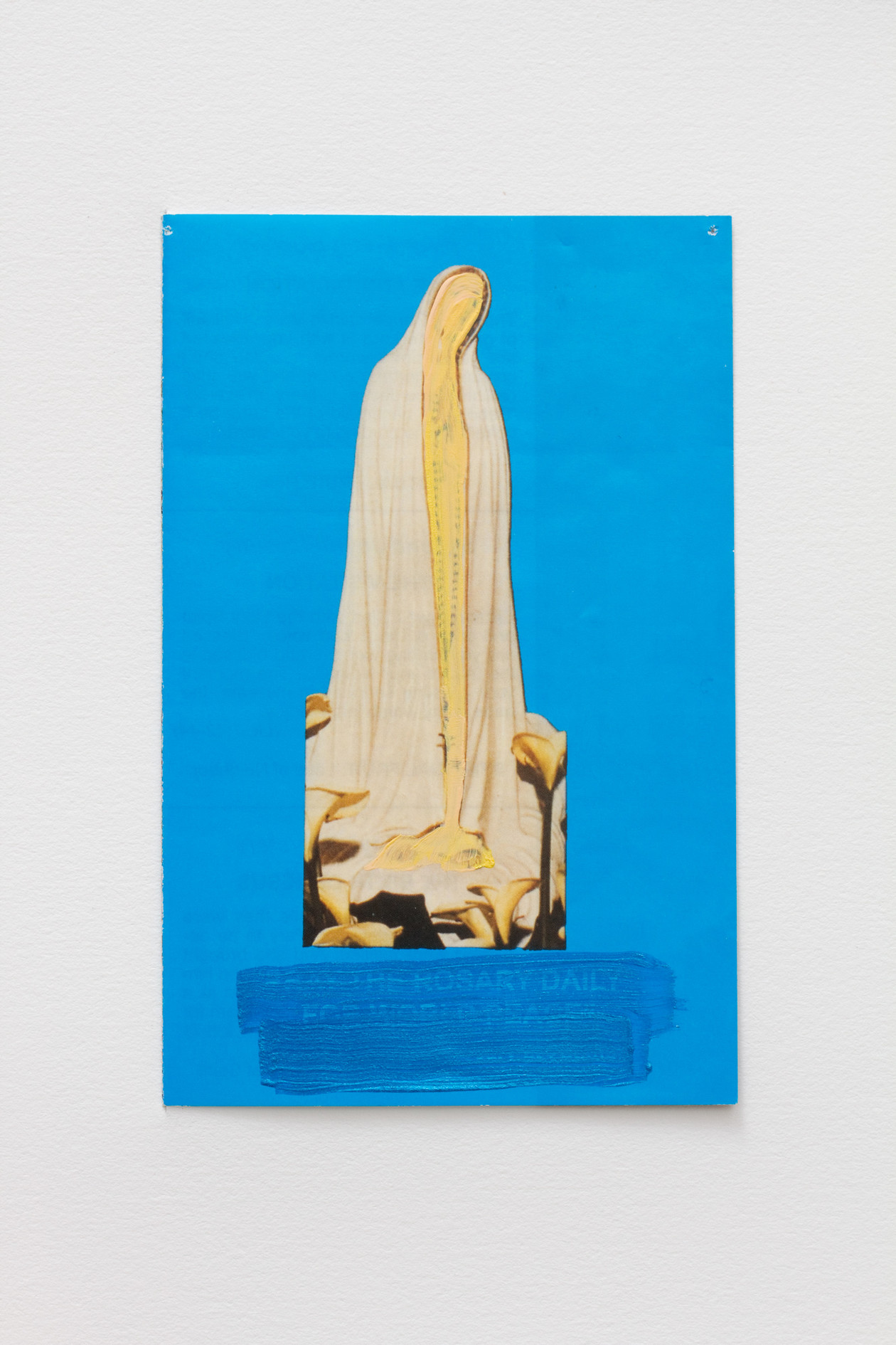 She does not touch the ground (Pray the Rosary Daily For World Peace) (2014) by Hayley Barker