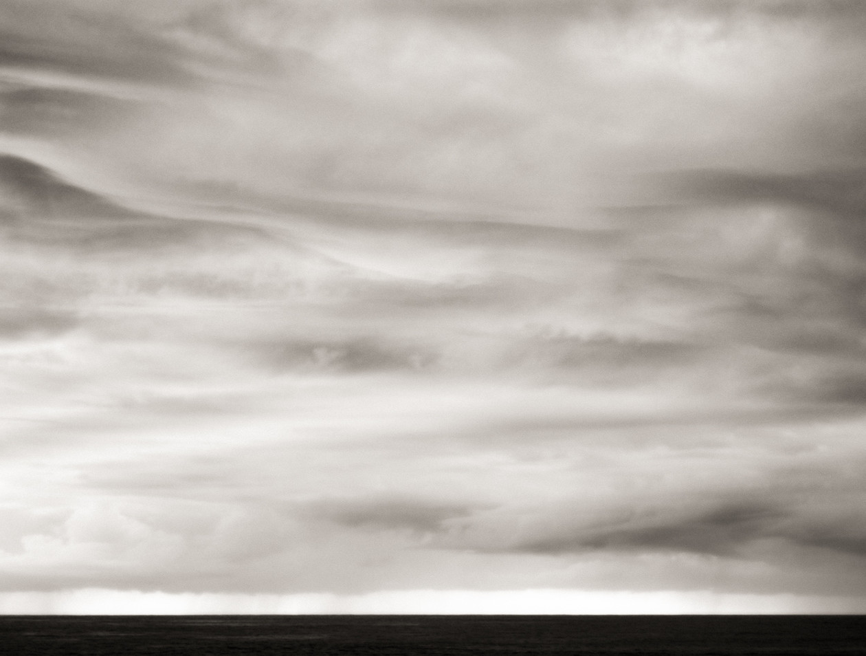Horizon and Storm Clouds (2005) by Jeffrey Conley