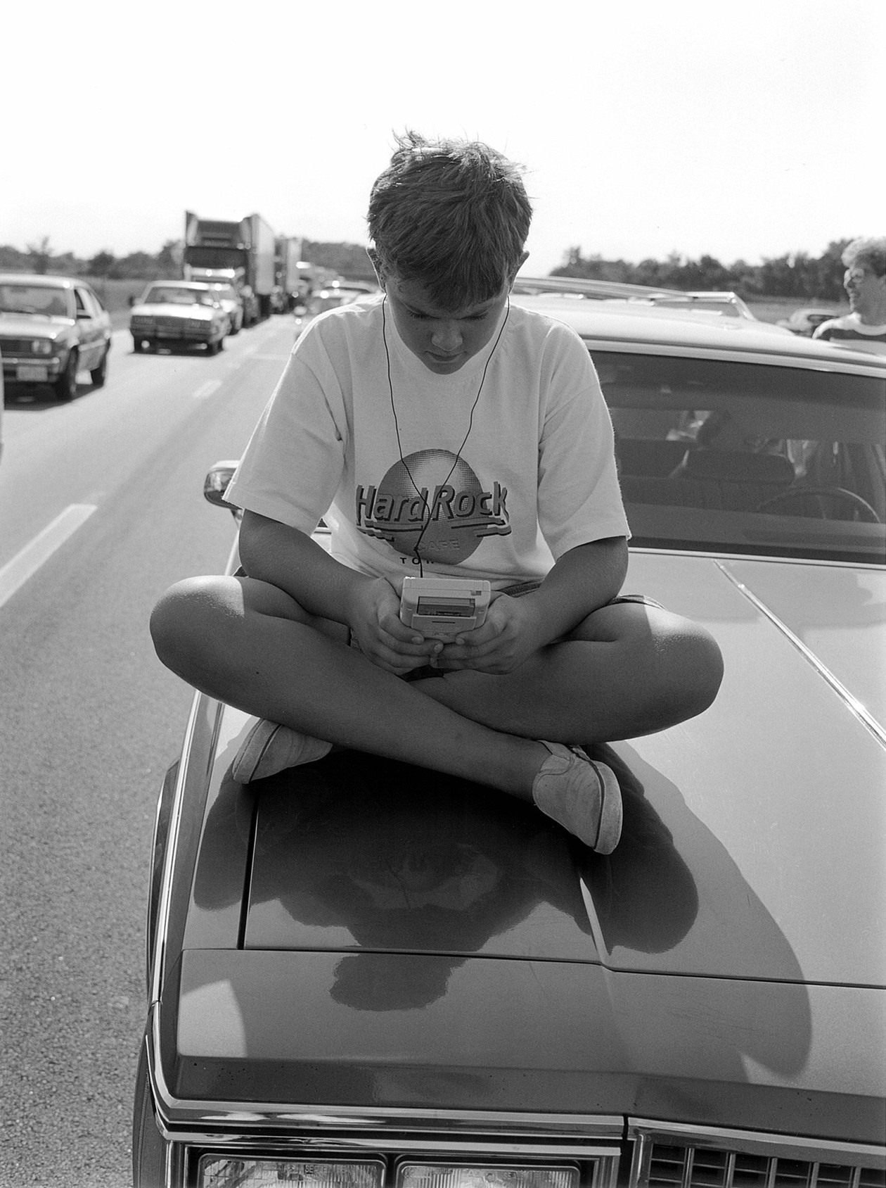 I-55, Illinois (1991) by Mark Steinmetz