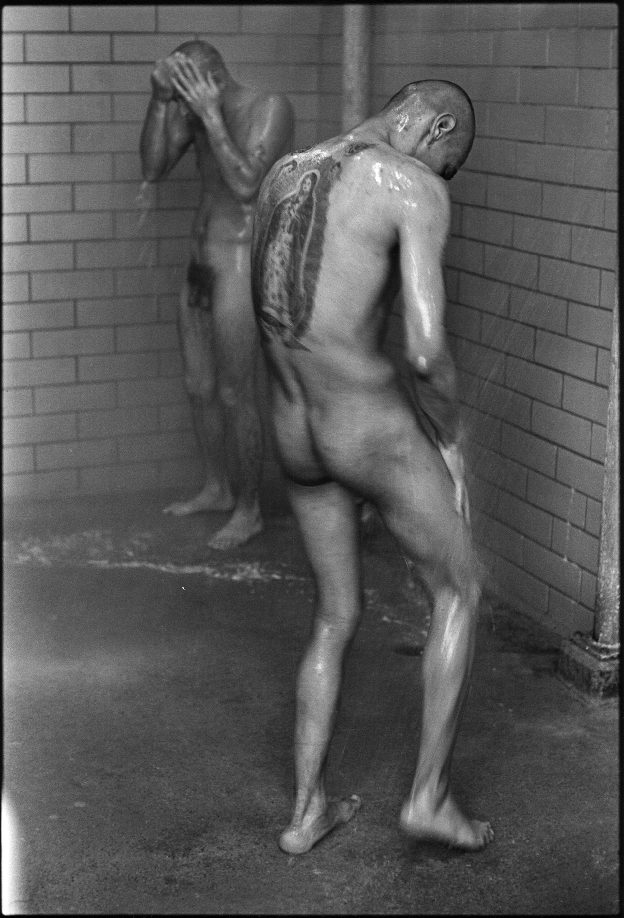 Showers (1967-1968) by Danny Lyon