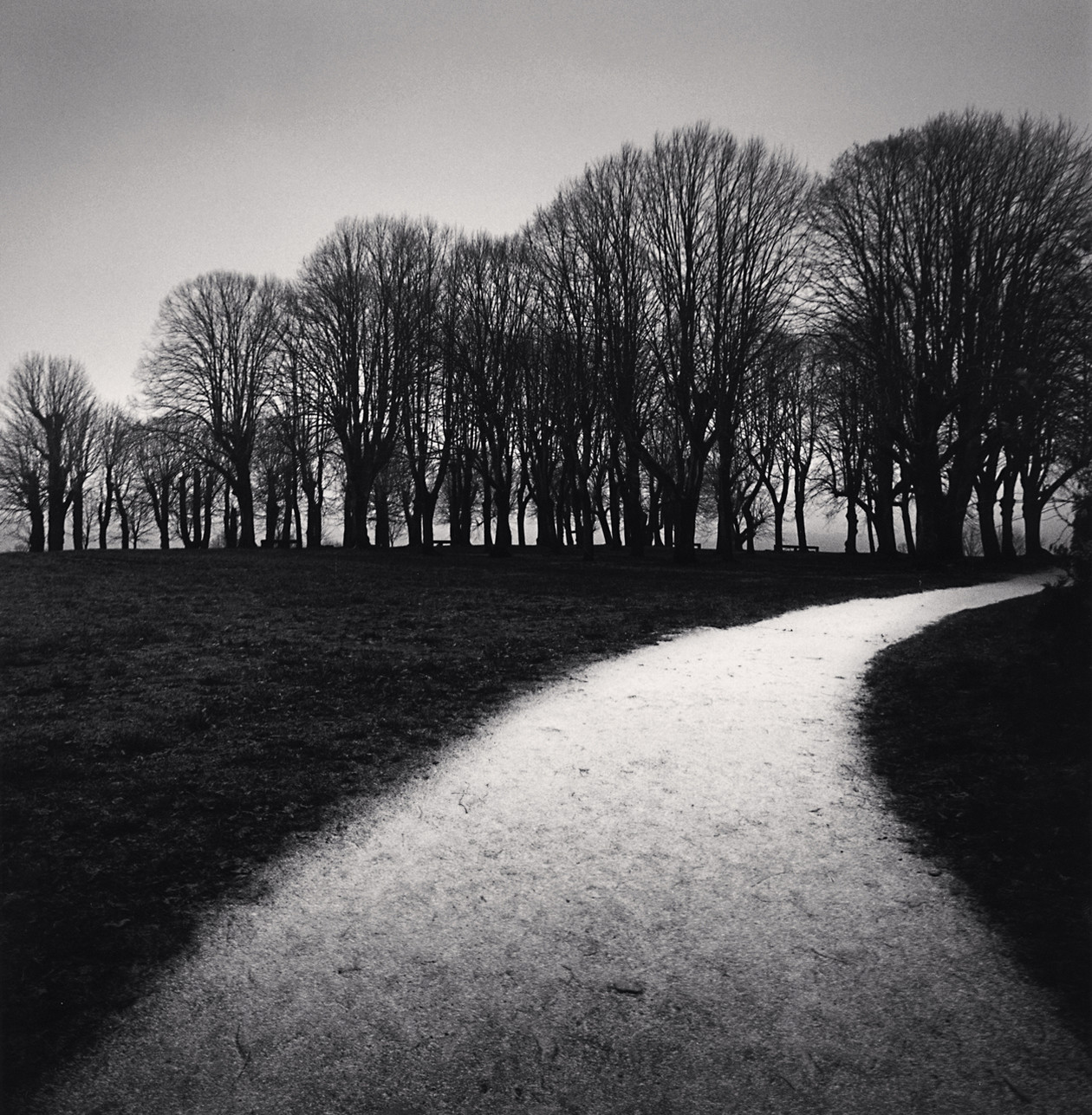 Moonlit Path, Vezelay (1998) by Michael Kenna