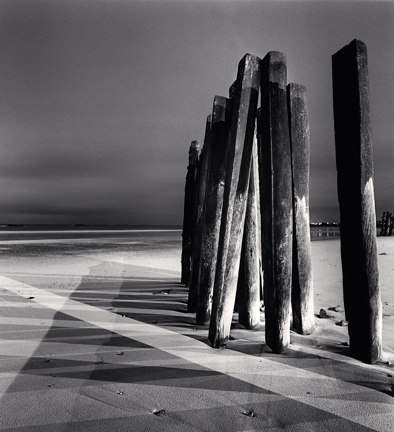 Night Shadows, St. Malo (2000) by Michael Kenna