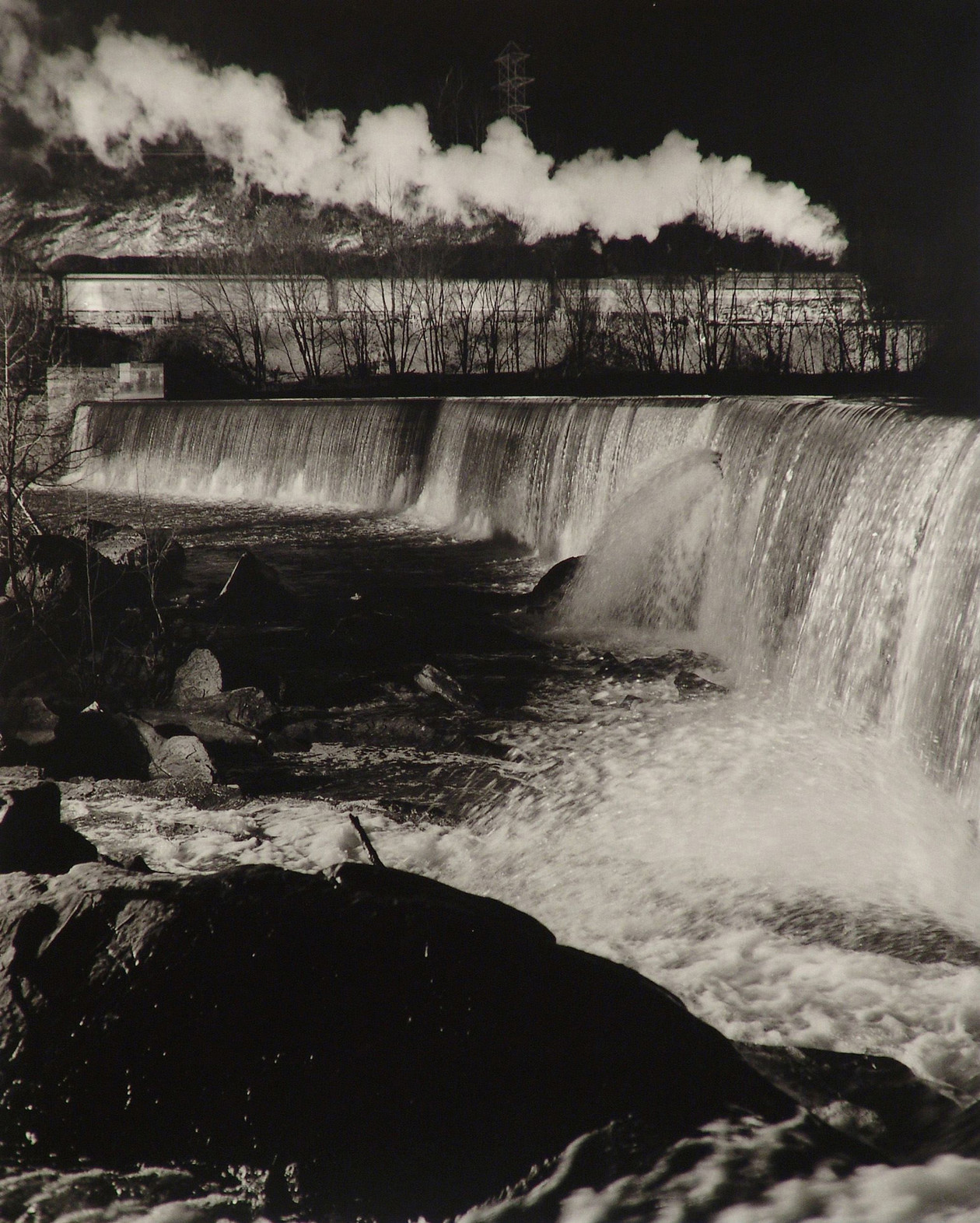 Gooseneck Dam of the Maury River (1956) by O. Winston Link