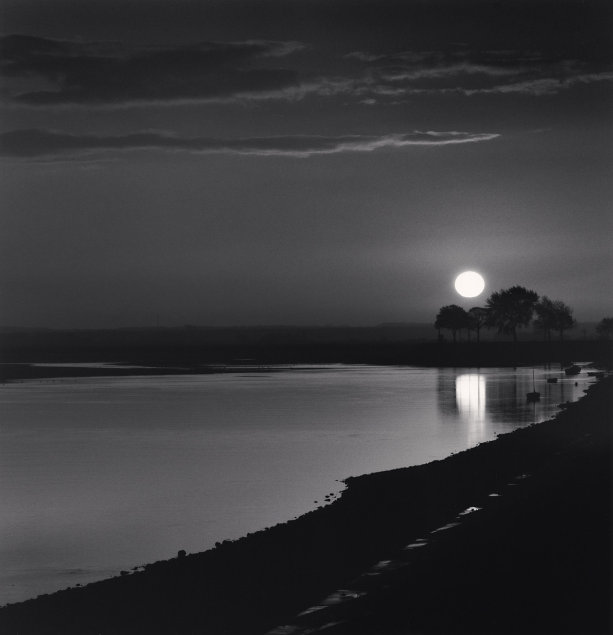 Sunrise, Saint Valery sur Somme, Picardy (2009) by Michael Kenna