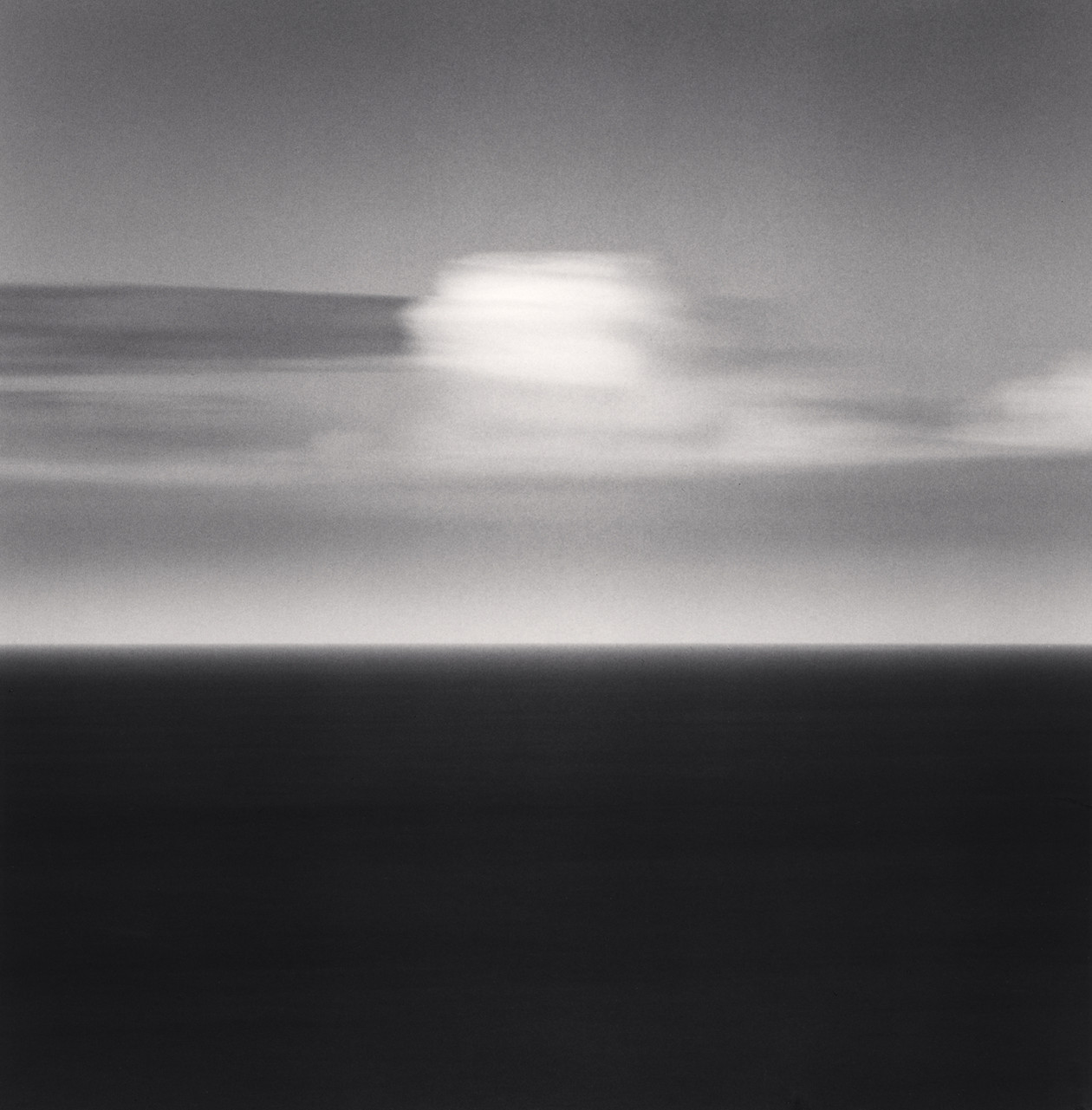 White Cloud, Ault, Picardy (2009) by Michael Kenna