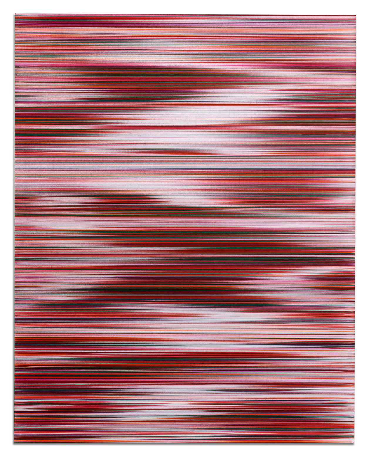 Waves in RGB (R) (2017) by John Whitten
