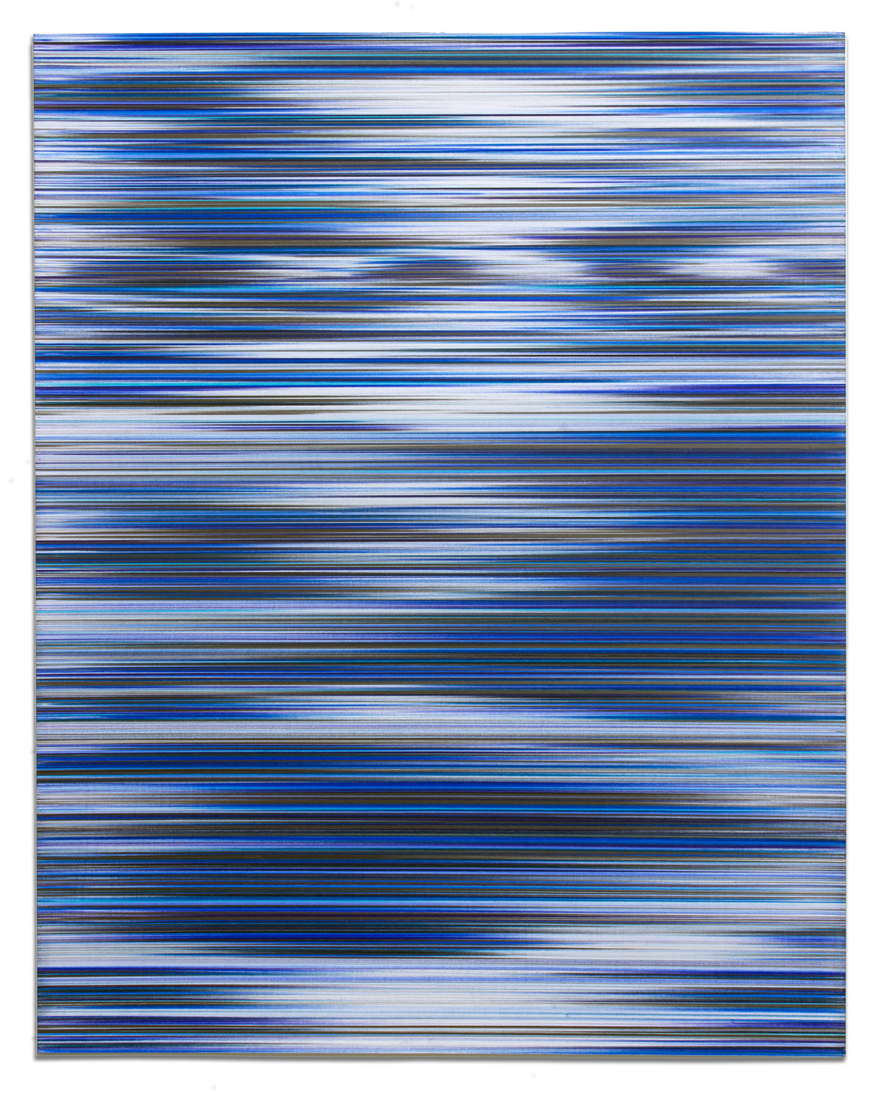 Waves in RGB (B) (2017) by John Whitten