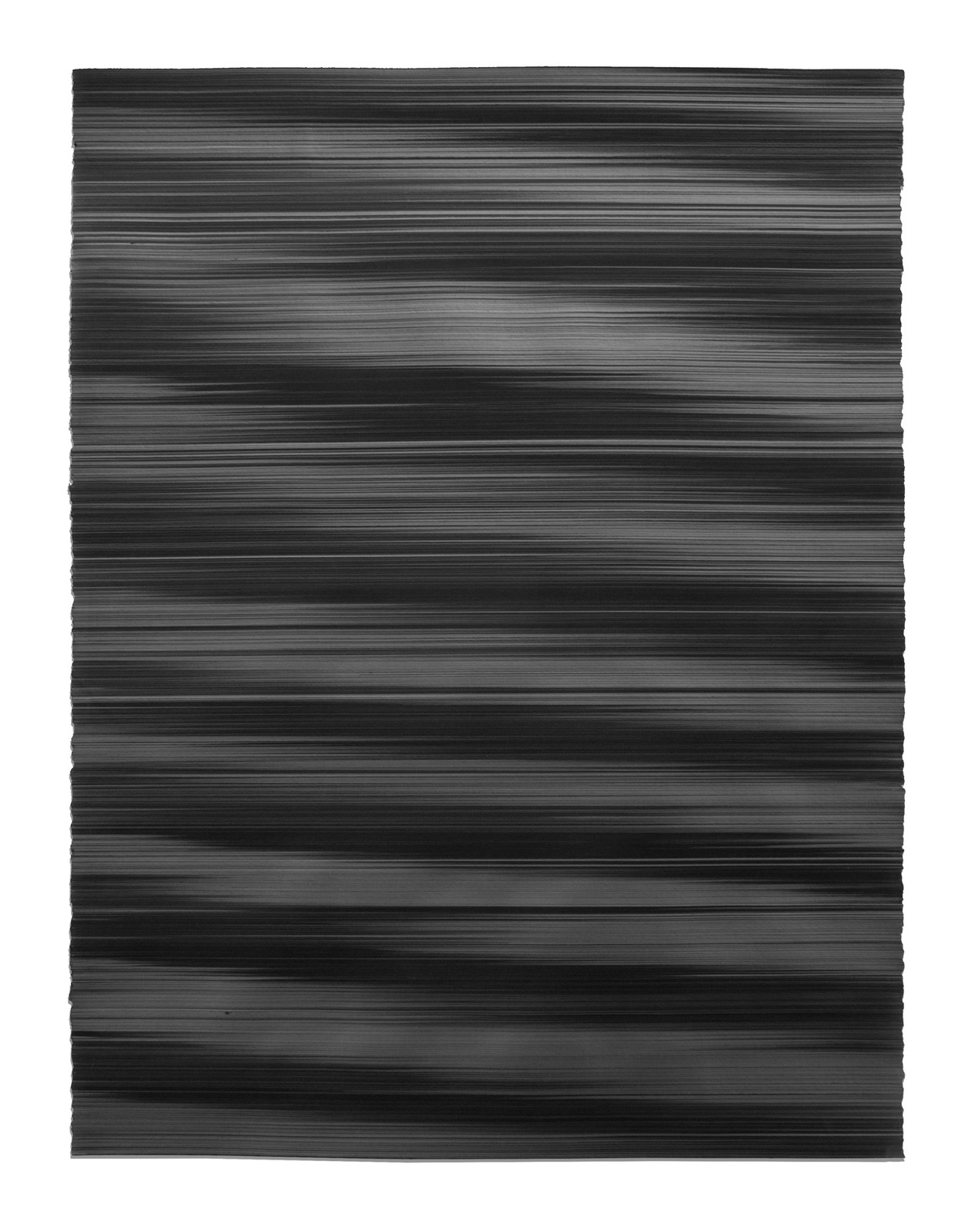 Waves in black No. 2 (2018) by John Whitten