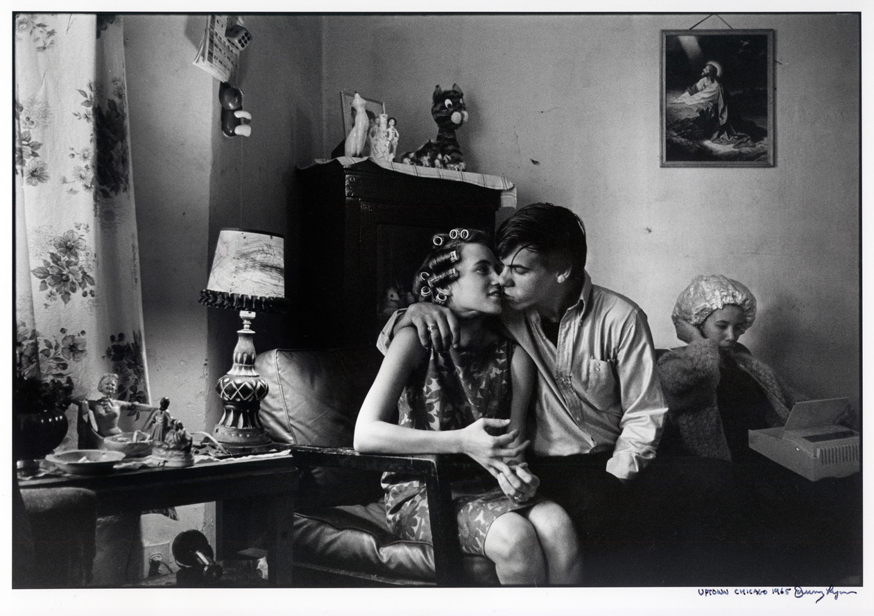 Uptown Chicago (1965) by Danny Lyon