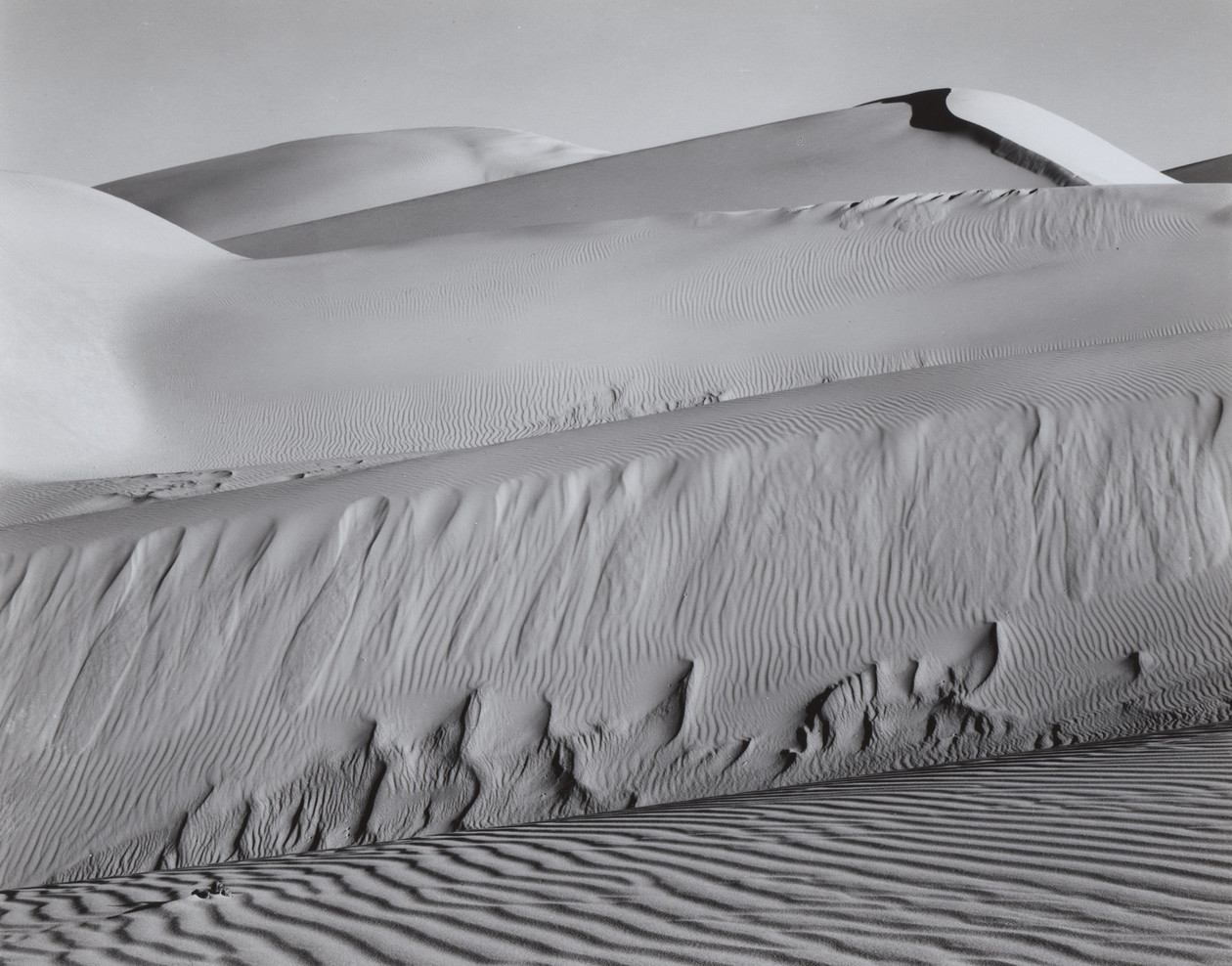 Dunes, Oceano (1936) by Edward Weston