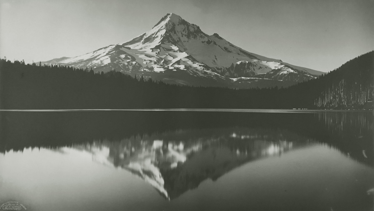 Mt. Hood and Lost Lake (1899) by Benjamin A. Gifford