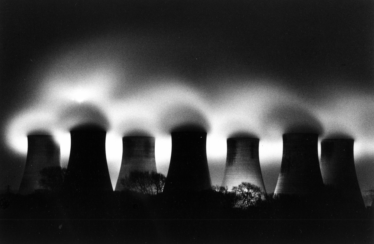 Ratcliffe Power Station, Study 31, Nottinghamshire, England (1987) by Michael Kenna