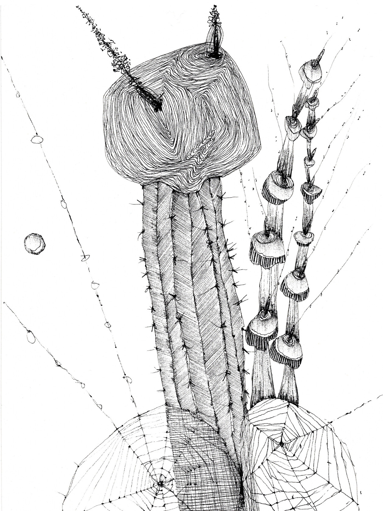 Untitled 12 (from New Drawings) (2021) by Rae Davis