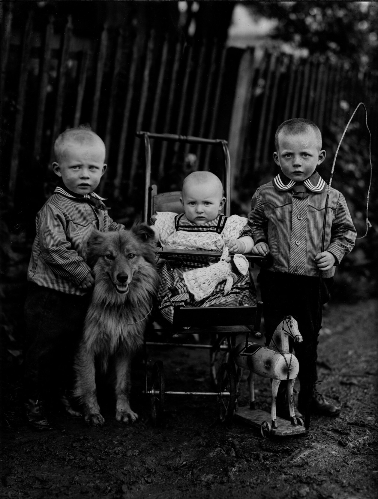 Farmer's Children, Westerwald (c. 1912) by August Sander