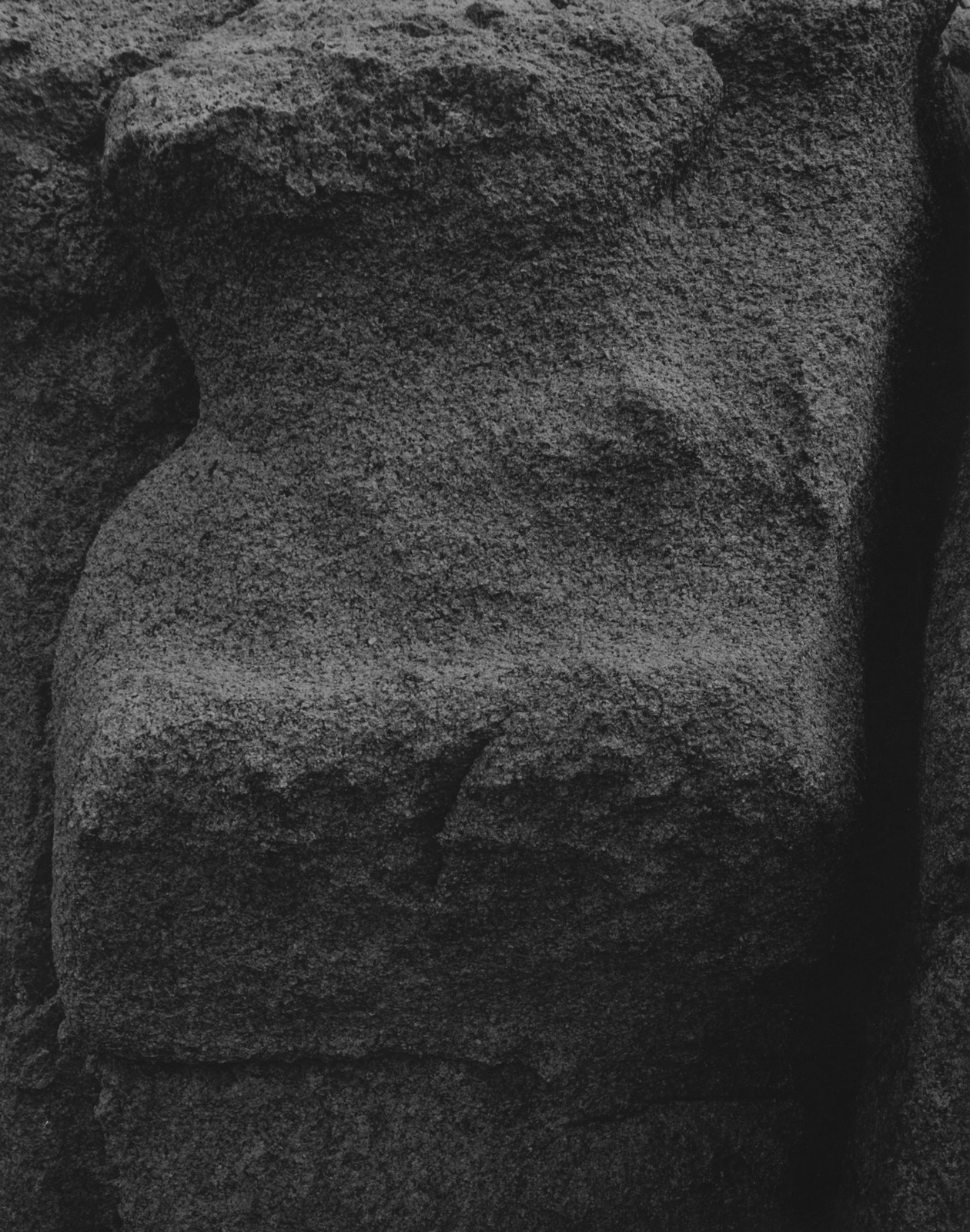 Gloucester Rocks 53A (1945) by Aaron Siskind