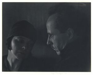 Edward Weston and Margarethe Mather (1923) by Imogen Cunningham