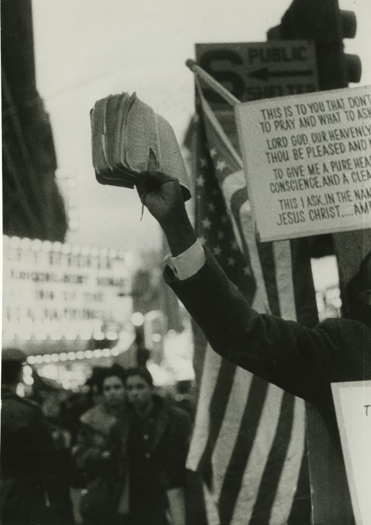 Untitled (Bible) (1950s-1960s) by Robert Frank