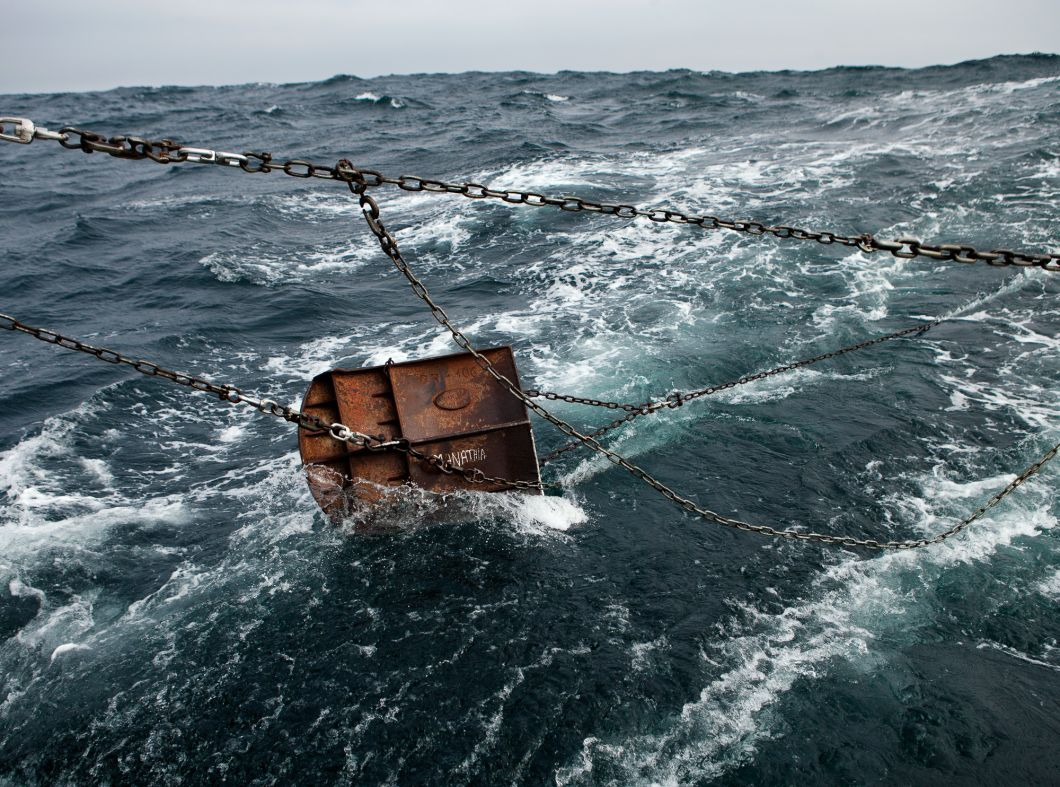 Manathia Trawl Door, North Atlantic, France (2010) by Corey Arnold