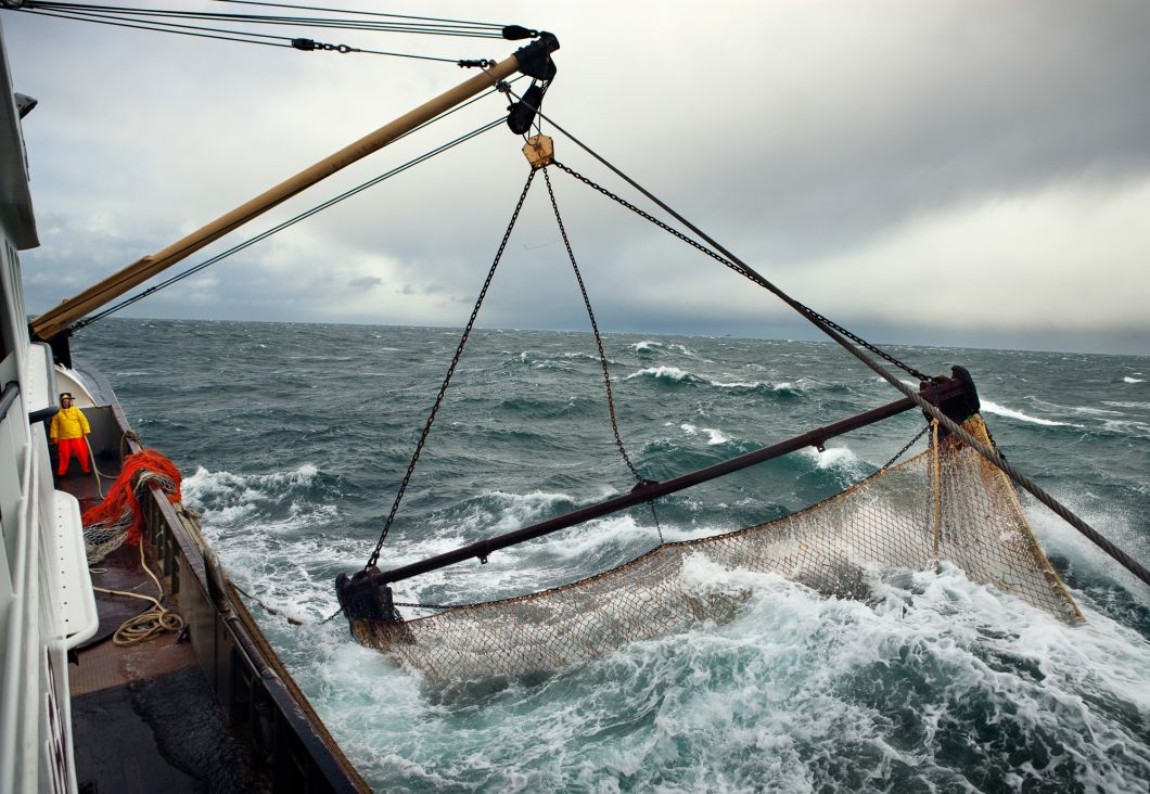 The Beam Trawl, North Sea, Netherlands (2010) by Corey Arnold