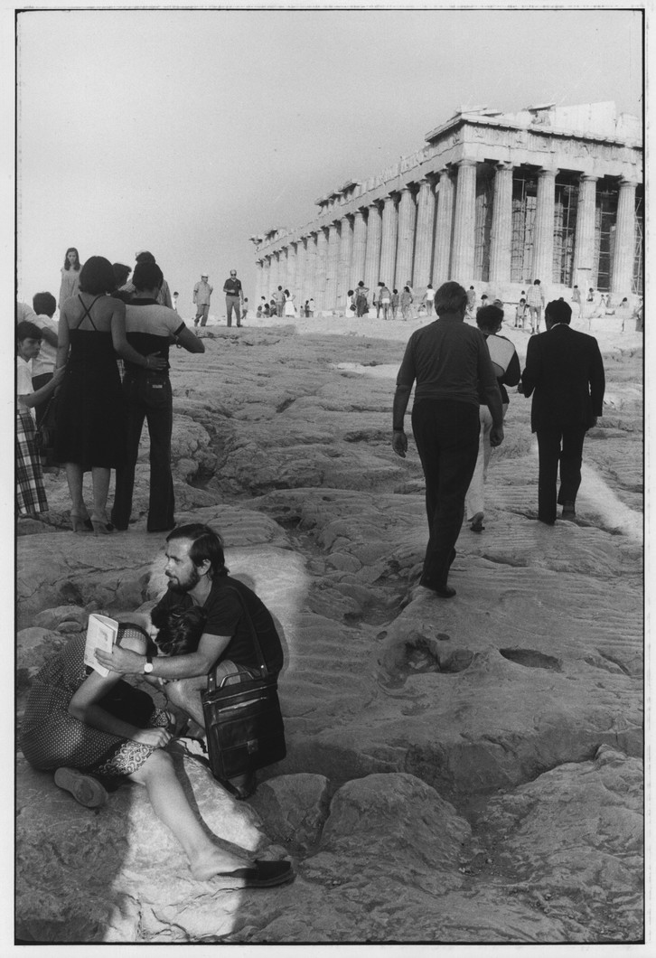 Untitled (Greece) (1977) by Garry Winogrand