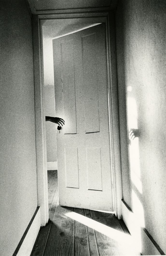 "Hand through Door, from  ""The Somnambulist"" (1969) by Ralph Gibson"
