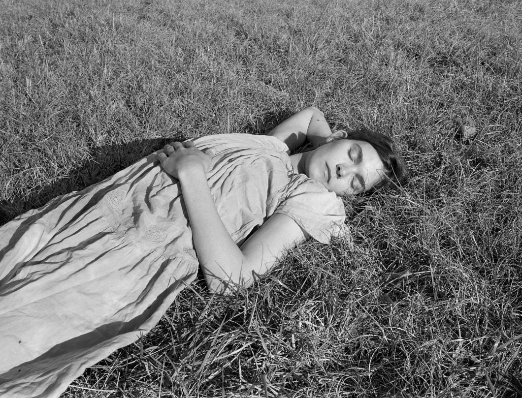Carey in Full Sun, Farmington, GA (1996) by Mark Steinmetz