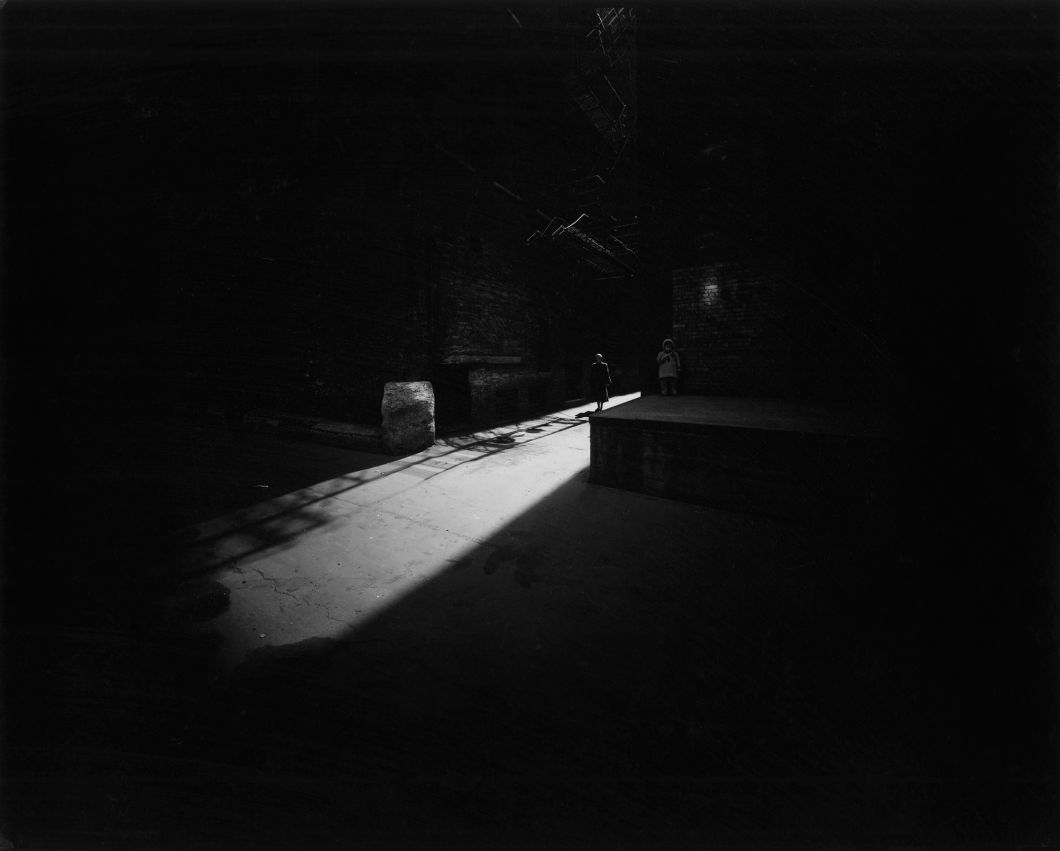 Eleanor and Barbara (variant) (1953) by Harry Callahan