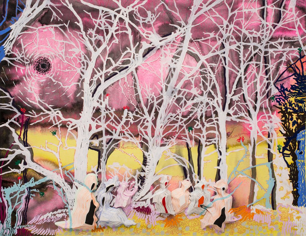 Picnic at Oaks Bottom (2014) by Anna  Fidler