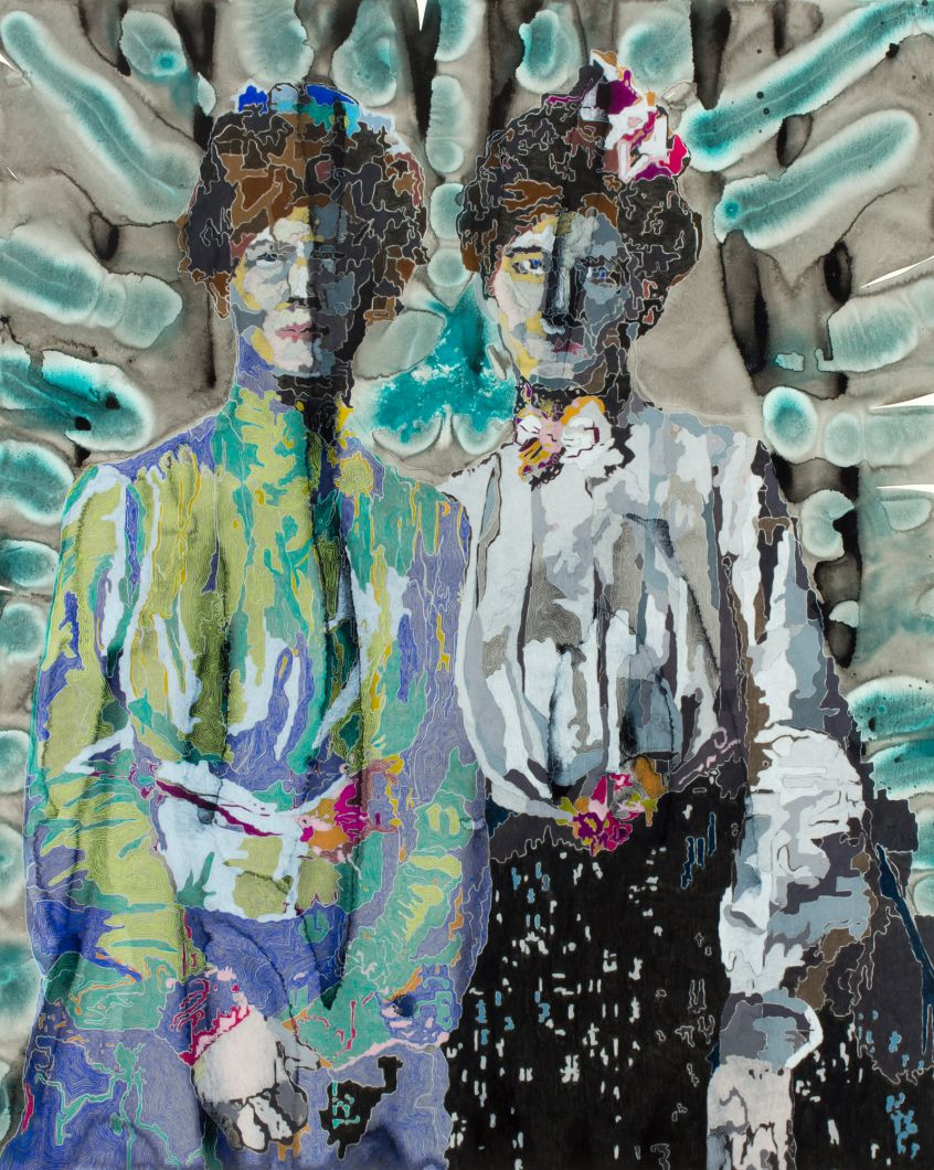 The Twins (2012) by Anna  Fidler